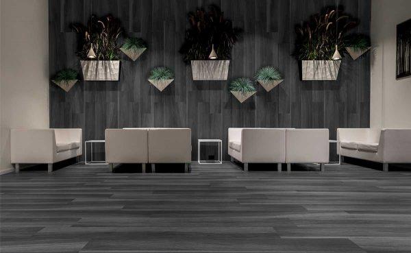 Pavimento gres porcellanato Gardenia Orchidea Black 20×120 Foto 1