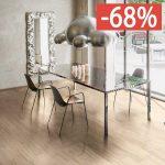 Pavimento gres porcellanato effetto legno Gardenia Orchidea Beige chiaro 16×100