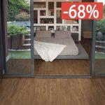 Pavimento gres porcellanato effetto legno Gardenia Orchidea Noce rosso 16x100