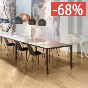 Pavimento gres porcellanato effetto legno Gardenia Orchidea Rovere chiaro 16x100