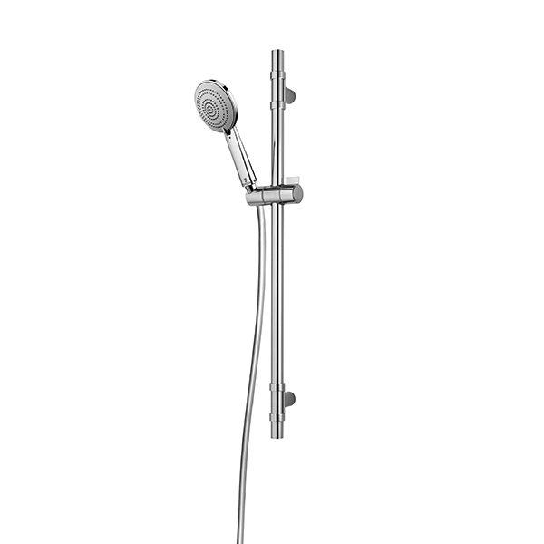 Saliscendi doccia Bossini regolabile con Asta a muro e Doccia Mix 3 getti Foto 1