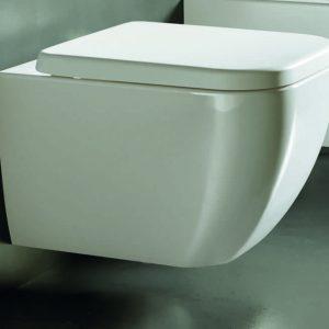 Vaso Wc sospeso bianco Hatria collezione Bianca 36x52