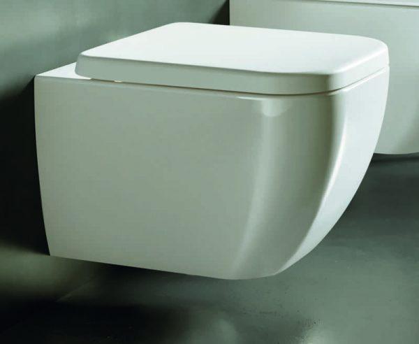 Vaso Wc sospeso bianco Hatria collezione Bianca 36×52