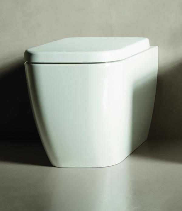 Vaso Wc filomuro a terra bianco Hatria serie Bianca 36×52
