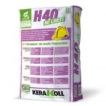 Kerakoll H40 No Limits Bianco Schock 25kg colla multiuso per piastrelle