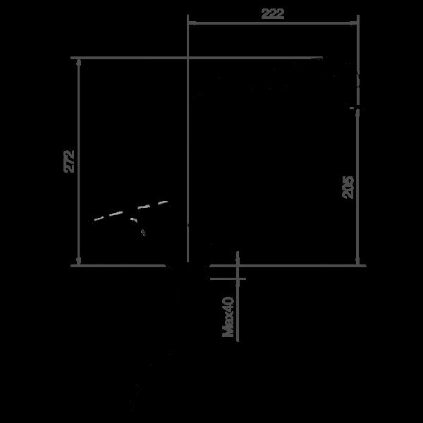 Rubinetto Miscelatore orientabile per lavello da cucina Ponsi Foto 2