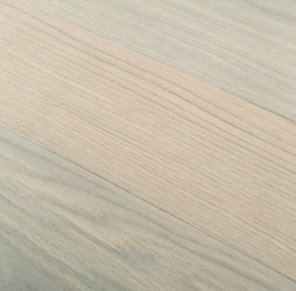Parquet rovere europeo ROMA finitura Bianco Listoncino posa a correre