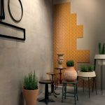 Gardenia Orchidea Mood Tan 40×80 interno ambiente