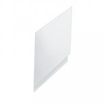 Pannello laterale vasca Calos 2.0 metacrilato 80 cm bianco lucido Foto 1