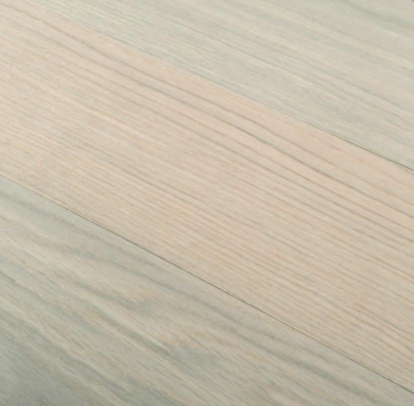 Parquet rovere europeo ROMA finitura Bianco Plancetta spazzolata
