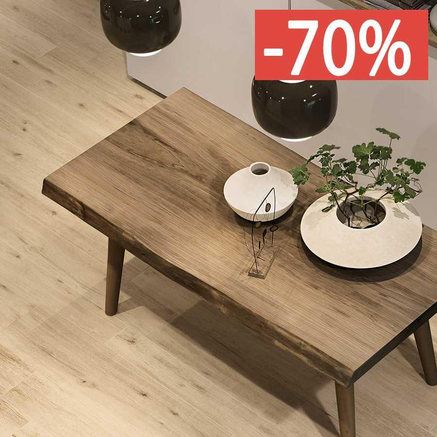 Pavimento Gres Rovere Sbiancato gres porcellanato effetti legno prezzi e sconti fino al 70%