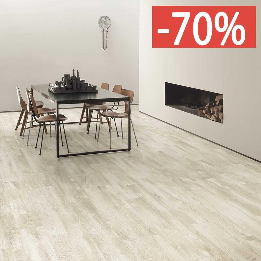 Pavimento gres porcellanato effetto legno Gardenia Orchidea Sbiancato 20x120