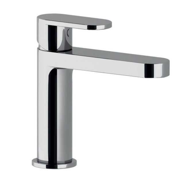 Rubinetto Miscelatore lavabo con scarico Ponsi Versilia Cromato Foto 1
