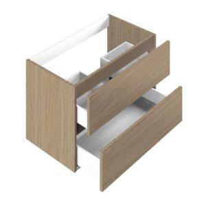 Base per lavabo integrato Ponsi serie Smile H 50 x P 45,5 x L 59,5 cm Foto 1Base per lavabo integrato Ponsi serie Smile H 50 x P 45,5 x L 59,5 cm Foto 1