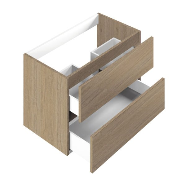 Base per lavabo integrato Ponsi serie Smile H 50 x P 45,5 x L 59,5 cm Foto 1
