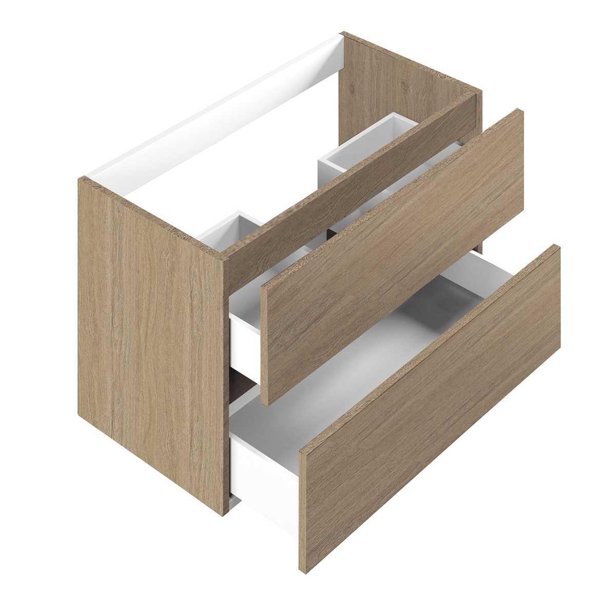 Base per lavabo integrato Ponsi serie Smile H 50 x P 45,5 x L 79,5 cm Foto 1