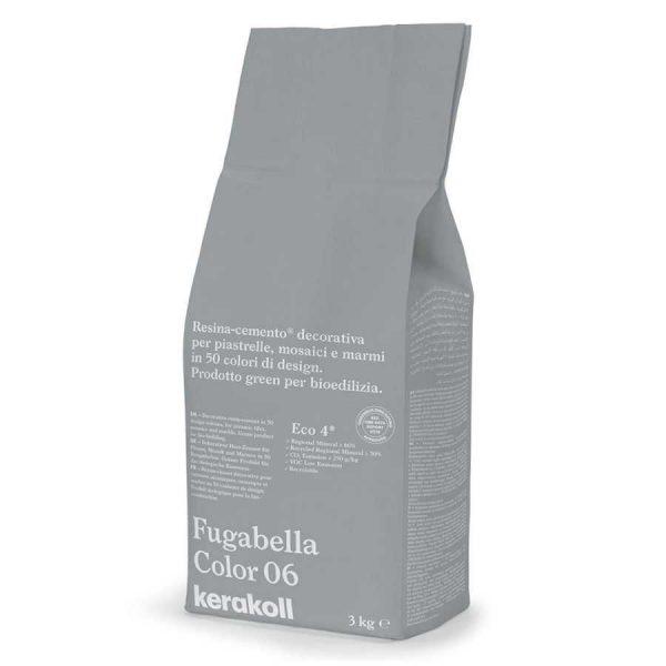 Kerakoll Fugabella Color 06 3kg stucco per fughe uso interno ed esterno
