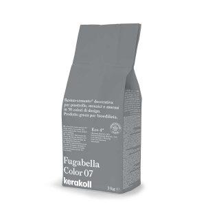 Kerakoll Fugabella Color 07 3kg stucco per fughe uso interno ed esterno