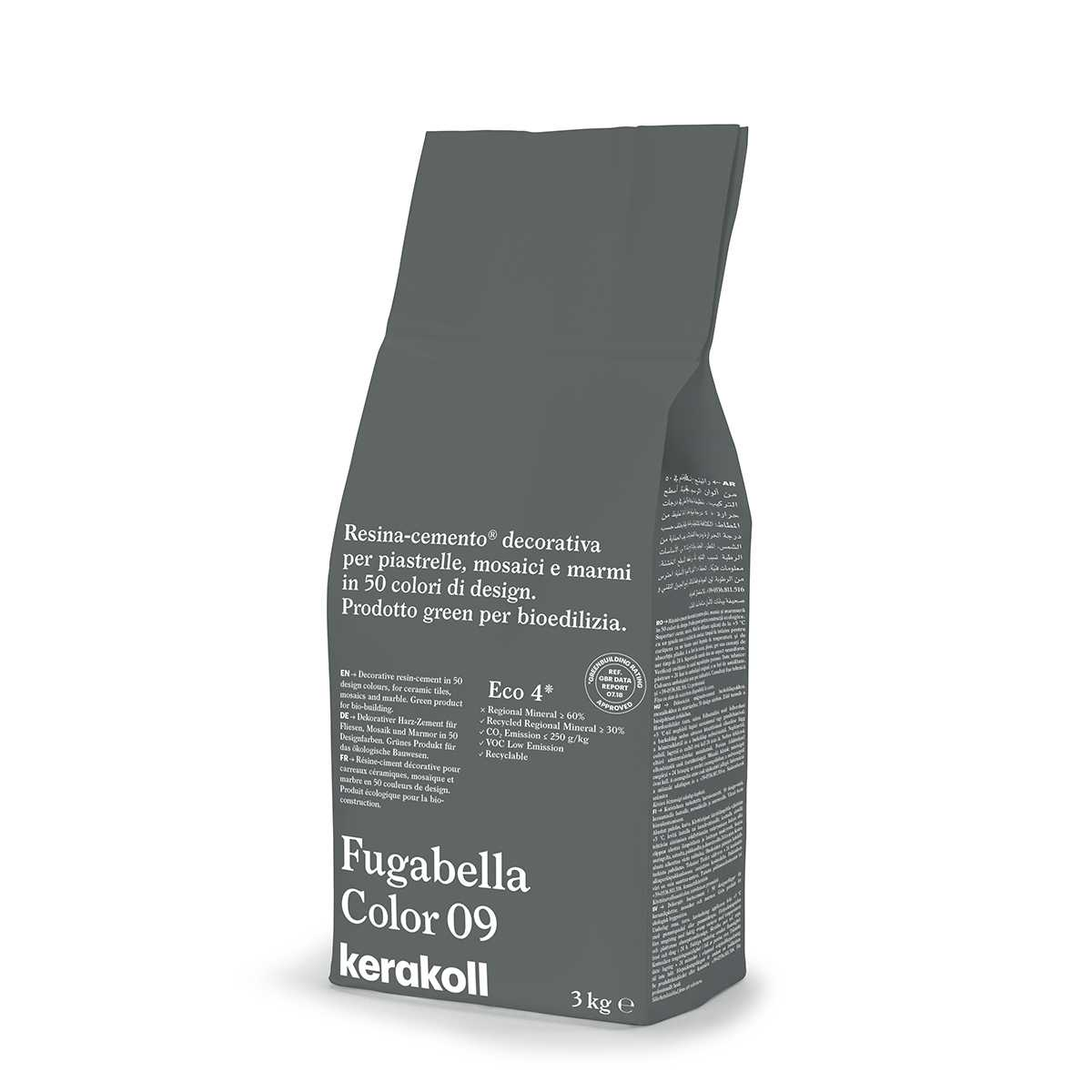 Kerakoll Fugabella Color 09 3kg stucco per fughe uso interno ed esterno