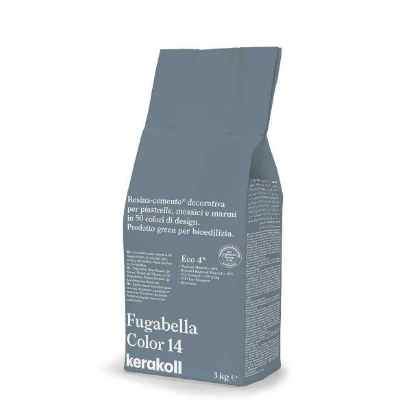 Kerakoll Fugabella Color 14 3kg stucco per fughe uso interno ed esterno