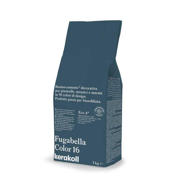 Kerakoll Fugabella Color 16 3kg stucco per fughe uso interno ed esterno