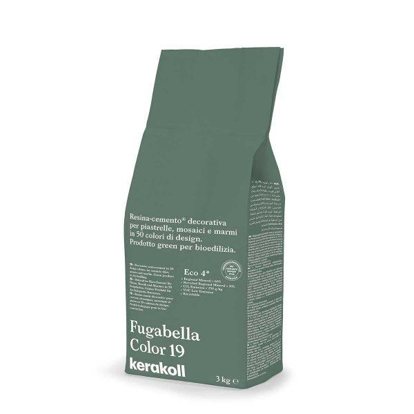 Kerakoll Fugabella Color 19 3kg stucco per fughe uso interno ed esterno