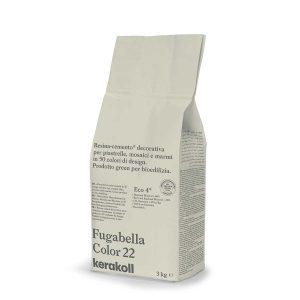 Kerakoll Fugabella Color 22 3kg stucco per fughe uso interno ed esterno