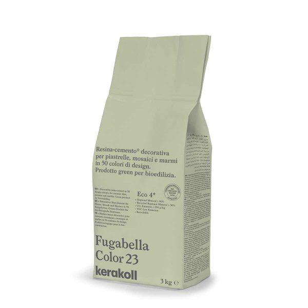 Kerakoll Fugabella Color 23 3kg stucco per fughe uso interno ed esterno