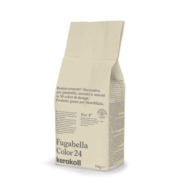 Kerakoll Fugabella Color 24 3kg stucco per fughe uso interno ed esterno