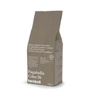 Kerakoll Fugabella Color 26 3kg stucco per fughe uso interno ed esterno