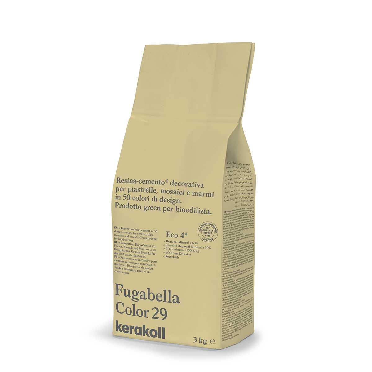 Kerakoll Fugabella Color 29 3kg stucco per fughe uso interno ed esterno