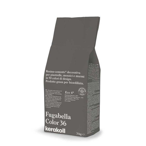 Kerakoll Fugabella Color 36 3kg stucco per fughe uso interno ed esterno