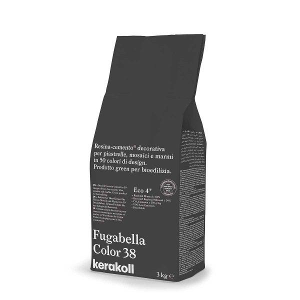 Kerakoll Fugabella Color 38 3kg stucco per fughe uso interno ed esterno