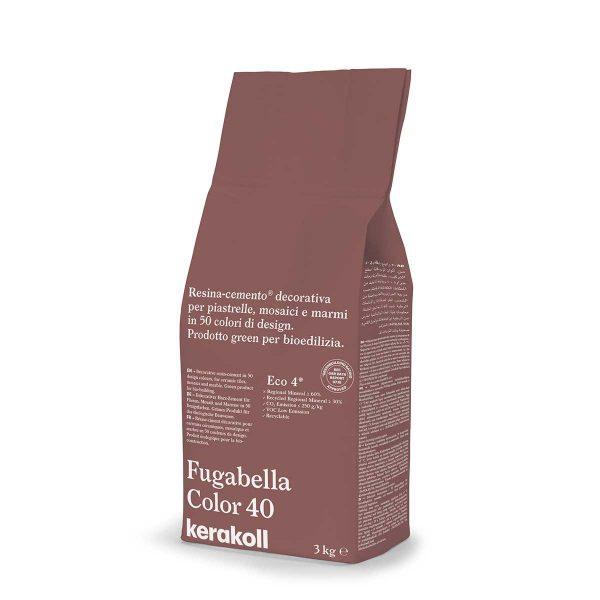 Kerakoll Fugabella Color 40 3kg stucco per fughe uso interno ed esterno