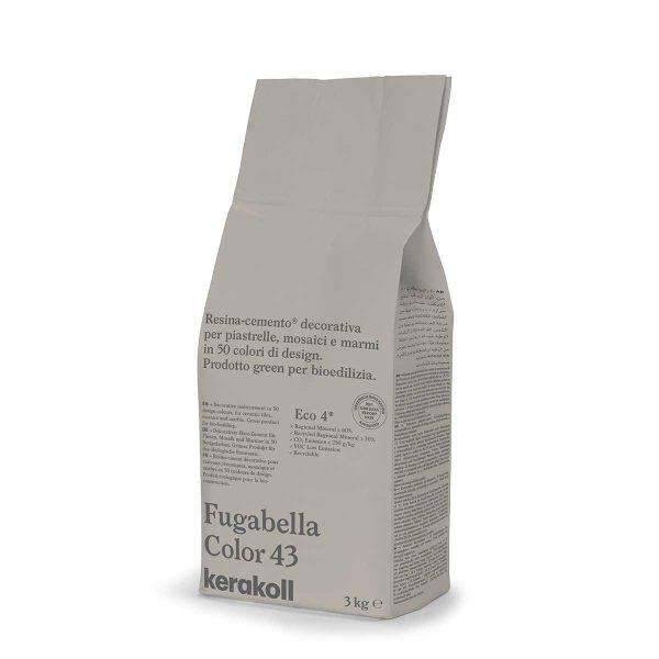 Kerakoll Fugabella Color 43 3kg stucco per fughe uso interno ed esterno