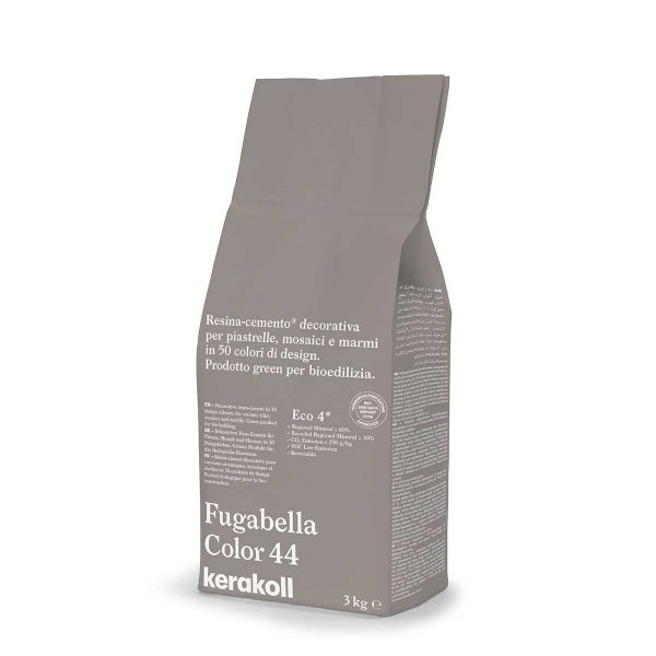 Kerakoll Fugabella Color 44 3kg stucco per fughe uso interno ed esterno
