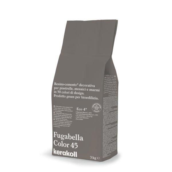 Kerakoll Fugabella Color 45 3kg stucco per fughe uso interno ed esterno