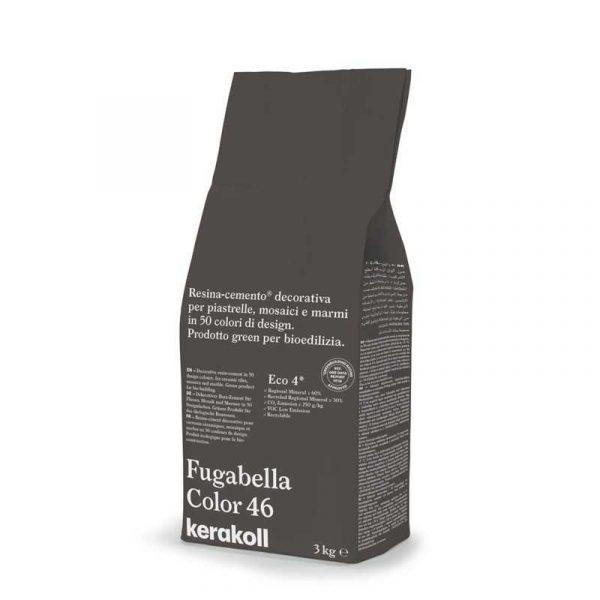 Kerakoll Fugabella Color 46 3kg stucco per fughe uso interno ed esterno