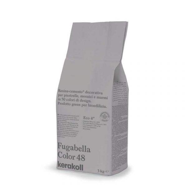 Kerakoll Fugabella Color 48 3kg stucco per fughe uso interno ed esterno