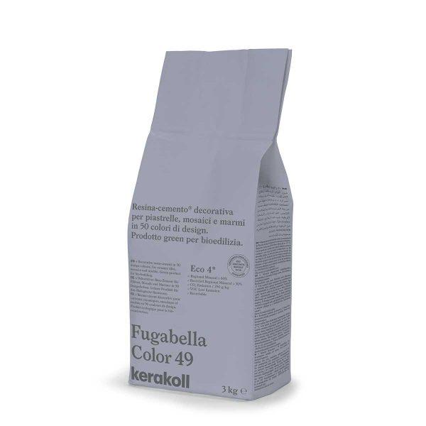 Kerakoll Fugabella Color 49 3kg stucco per fughe uso interno ed esterno