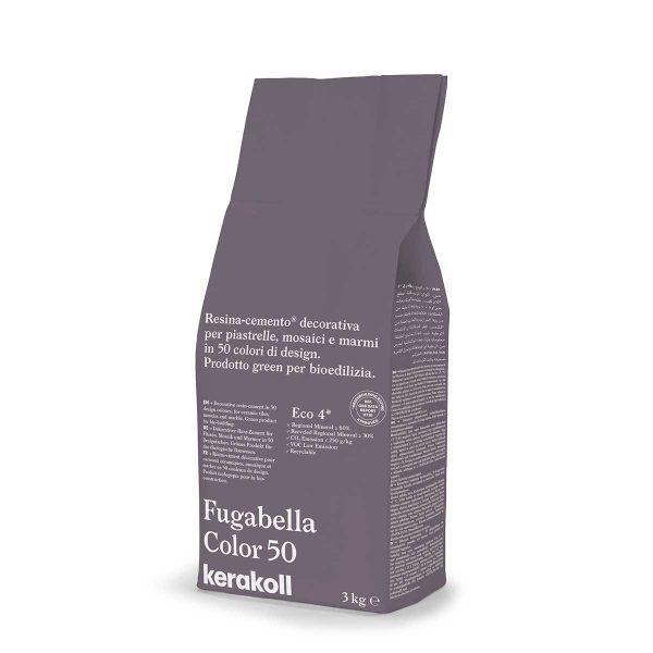 Kerakoll Fugabella Color 50 3kg stucco per fughe uso interno ed esterno