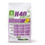 Kerakoll H40 No Limits Bianco Shock 5kg colla multiuso per piastrelle