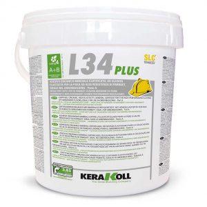 Kerakoll SLC Eco L34 Plus chiara 10 Kg Colla per la posa di parquet