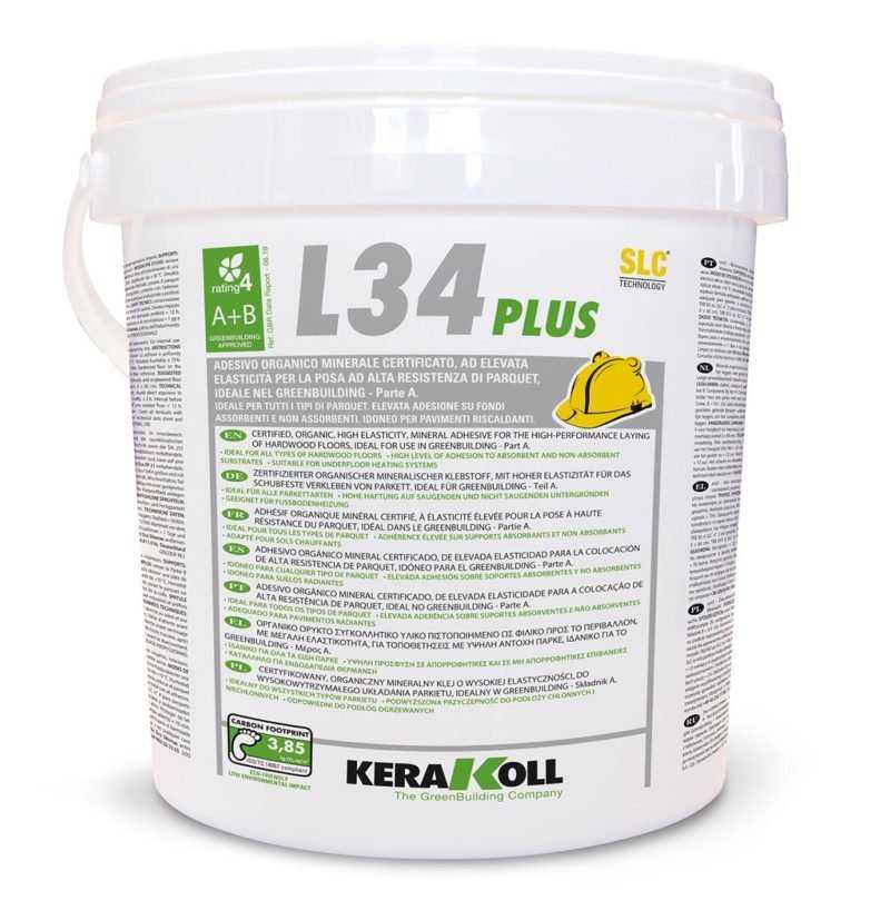 Kerakoll SLC L34 Plus scura 10 Kg Colla per la posa di parquet