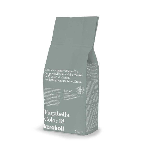 Kerakoll Fugabella Color 18 3kg stucco per fughe uso interno ed esterno