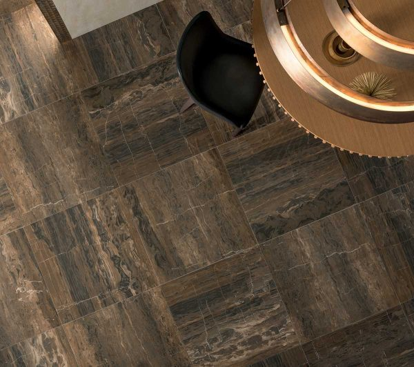 Pavimento gres porcellanato Gardenia Orchidea Brown Onix 80×80 Unique Foto 1