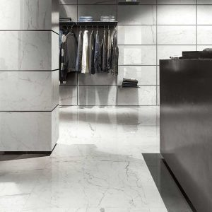 Pavimento Cerim Antique Ghost Marble 01 80x80 6mm Naturale Foto 2