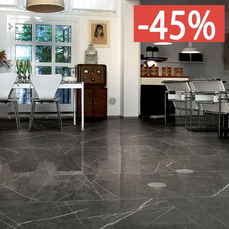 Pavimento Cerim Antique Pantheon Marble 06 80x80 6mm Naturale .