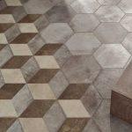 Pavimento Gres porcellanato Fioranese Ceramica Deco Exagona Texture2 (2)