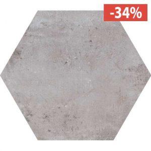 Pavimento Gres porcellanato Fioranese Ceramica Heritage Exagona Grey .
